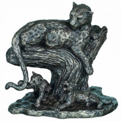 Picture of The Open Plains African Big Cat Bronze Figurine Large