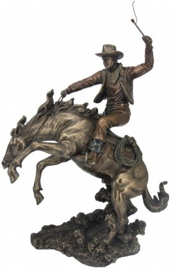 Picture of Cowboy Classic Rodeo Bronze Figurine