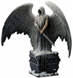 Picture of Cloaked Guardian Angel Figurine (L A Williams) 32.5cm