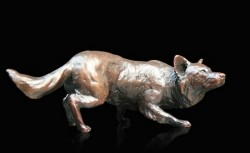 Picture of Border Collie Small Bronze Figurine (Limited Edition) Michael Simpson