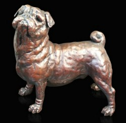 Picture of Pug Bronze Figurine (Limited Edition) Grant Palmer