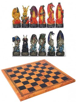 Picture of Dragon Battle Chess Set