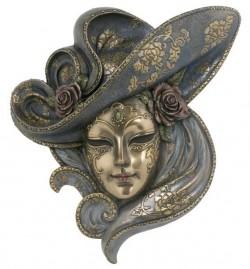 Picture of Venetian Mask Rose (Genesis Fine Arts)