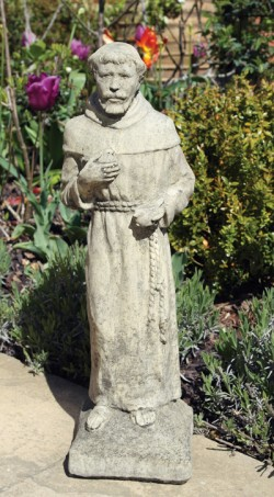 Picture of The Friar Stone Garden Statue 56cm