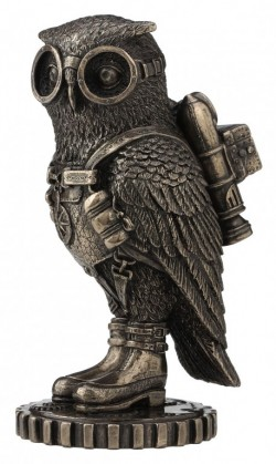 Picture of Steampunk Owl Bronze Figurine 16 cm