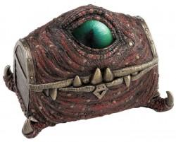 Picture of Mimic Dragon Treasure Chest Bronze Figurine