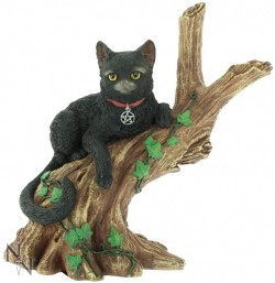 Picture of Onyx Black Cat Figurine 14cm