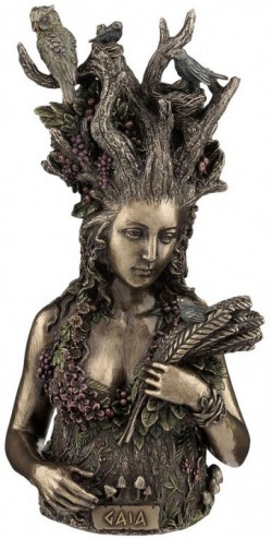 Picture of Gaia Bronze Figurine 26cm