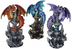 Picture of Protectors of the Keep Dragon Figurines (Set of 3)
