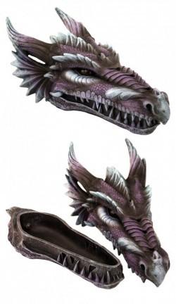 Picture of Amethyst Fury Purple Dragon Incense Box 28cm