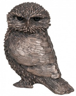 Picture of Olly Little Owl Bronze Figurine (Thomas Meadows) 12cm