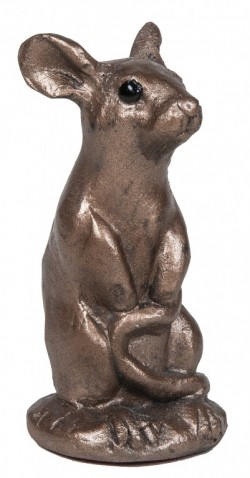 Picture of Woody Mouse Bronze Small Sculpture (Paul Jenkins) 9cm