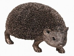 Picture of Snuffles Walking Hedgehog Bronze Sculpture (Thomas Meadows) 17cm