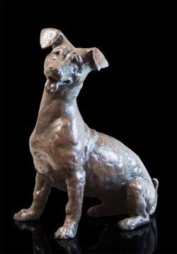 Picture of Jax the Jack Russell Bronze Sculpture Grant Palmer 25cm