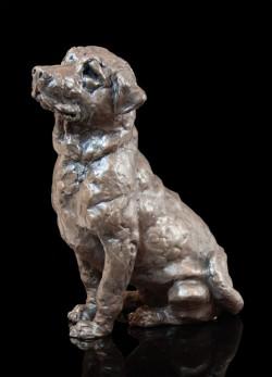 Picture of Laddie Labrador Bronze Sculpture Grant Palmer 25 cm