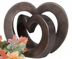Picture of Enduring Love Contemporary Bronze Sculpture (Adrian Tinsley) 24cm