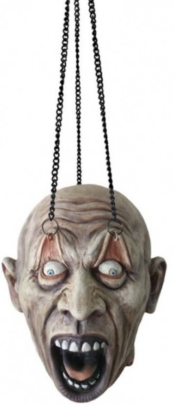 Picture of Zombie Head Hanging Decoration 18 cm Eternal Torture