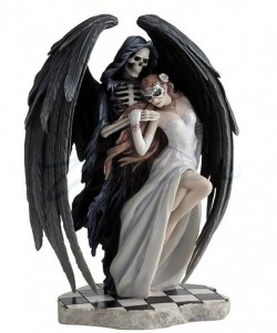 Picture of Dance with Death Figurine (Anne Stokes)