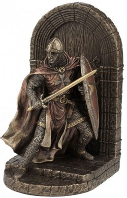 Picture of Crusader Bookend Bronze 19.5cm