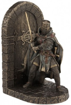 Picture of Knight Bookend Bronze 19.5cm