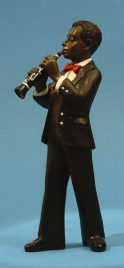 Picture of Clarinet Player All That Jazz Figurine