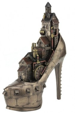Picture of Steampunk Stiletto City Bronze Figurine