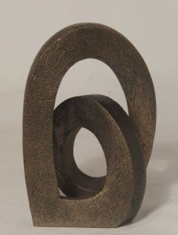 Picture of Endless Love Contemporary Bronze Sculpture (Adrian Tinsley) 20 cm