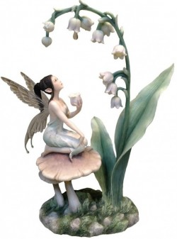 Picture of  Lily of The Valley Fairy Designer Figurine (Rachel Anderson)