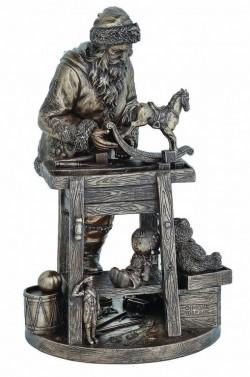 Picture of Santas Workbench Bronze Figurine 31cm