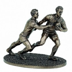Picture of The Tackle Rugby Figurine 21cm