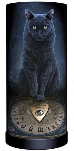 Picture of His Masters Voice Cat Table Lamp (Lisa Parker) 28cm