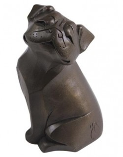 Picture of Pug Bronze Figurine (Arora Gallery Design Collection)