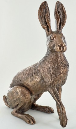 Picture of Buttercup Hare Bronze Sculpture (Harriet Glen) LARGE 26 cm