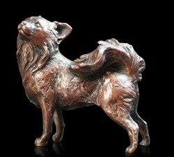 Picture of Small Chihuahua Bronze Figurine (Limited Edition) Michael Simpson