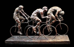 Picture of Wheels on Fire Bronze Figurine (Limited Edition) Grant Palmer 39 cm