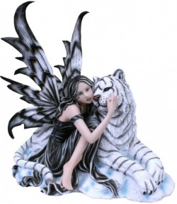Picture of Arctic Warmth Fairy Figurine 37cm