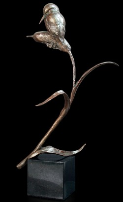 Picture of The Kingfisher Figurine (Limited Edition) Michael Simpson 27 cm
