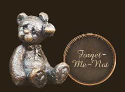 Picture of Forget Me Not Penny Bear Michael Simpson