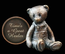 Picture of Time is a Great Healer Penny Bear Michael Simpson