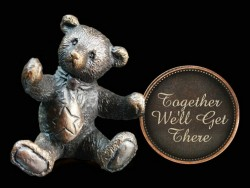 Picture of Together Well Get There Penny Bear Michael Simpson