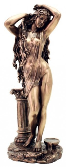 Picture of Aphrodite Goddess Bronze Figurine 29 cm
