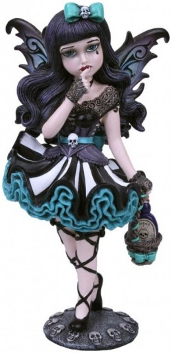 Picture of Adeline Gothic Fairy Figurine 16.5cm (Little Shadows)