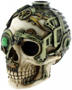Picture of Steampunk Skull Candle Holder 16.5cm