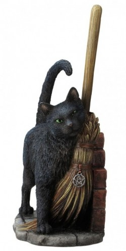 Picture of A Brush with Magick Cat Figurine (Lisa Parker) 27cm
