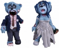 Picture of Bride and Groom Zombie Bears Pete Underhill