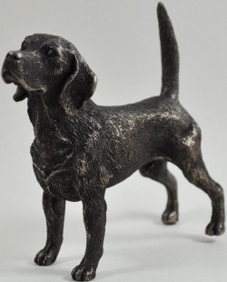 Picture of Beagle Bronze Dog Sculpture