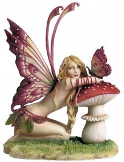 Picture of Fairy and Mushroom Figurine (Selina Fenech) 17cm