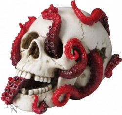 Picture of Devoured Skull Ornament 24cm