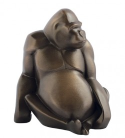 Picture of Gorilla Bronze Figurine (Arora Gallery Design Collection)