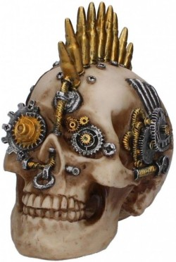 Picture of Clockwork Bullet Skull 17.5cm
